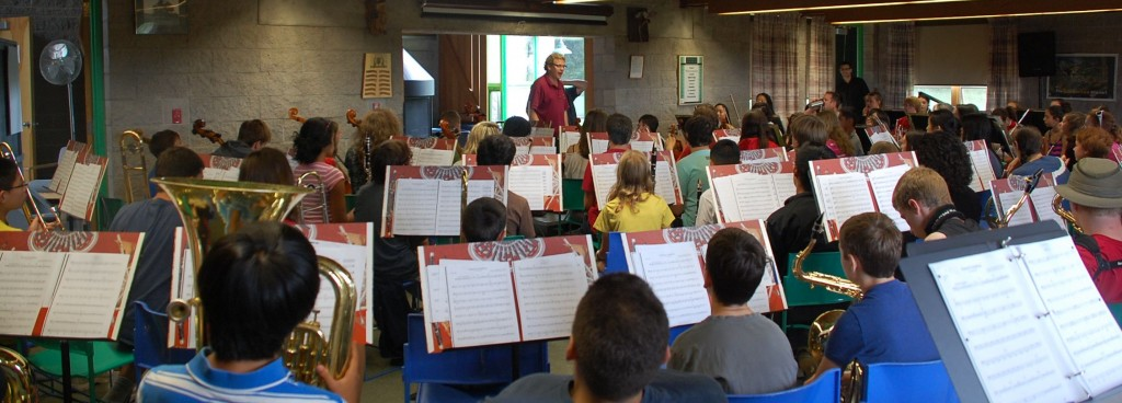 Daily Band and Orchestra Rehearsals