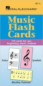 Cover of Hal Leonard Music Flash Cards (Set A)