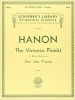Cover of Hanon's The Virtuoso Pianist in 60 Exercises