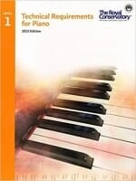Cover of Technical Requirements for Piano (RCM)