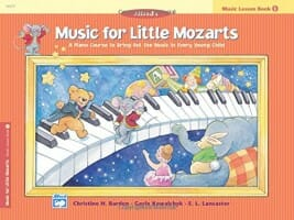 Cover of Music For Little Mozarts, book 1