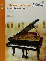 Cover of Celebration Series Piano Repertoire Level I (RCM)