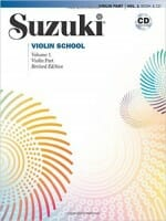 Cover of Suzuki Violin School Volume 1