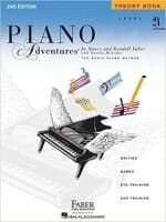 Cover of Faber & Faber Piano Adventures Theory Book Level 2A