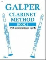 Cover of The Galper Clarinet Method Book