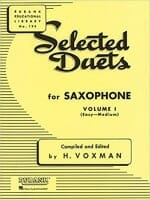 Cover of Selected Duets for Saxophone (Voxman)