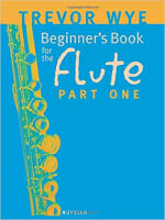 Cover of Beginner's book for Flute by Trevor Wye