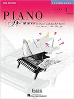 Cover of Faber Piano Adventures Lesson Book 1