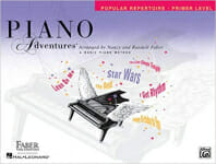 Cover of Faber Piano Adventures Popular Repertoire Book Primer Level