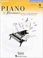Cover of Faber Piano Adventures Lesson Book 2B