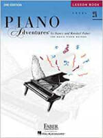 Cover of Faber Piano Adventures Lesson Book 2A