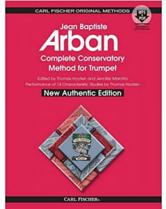 Cover of Arban Complete Method for Trumpet