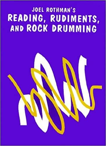Cover of Joel Rothman's Reading, Rudiments, and Rock Drumming book