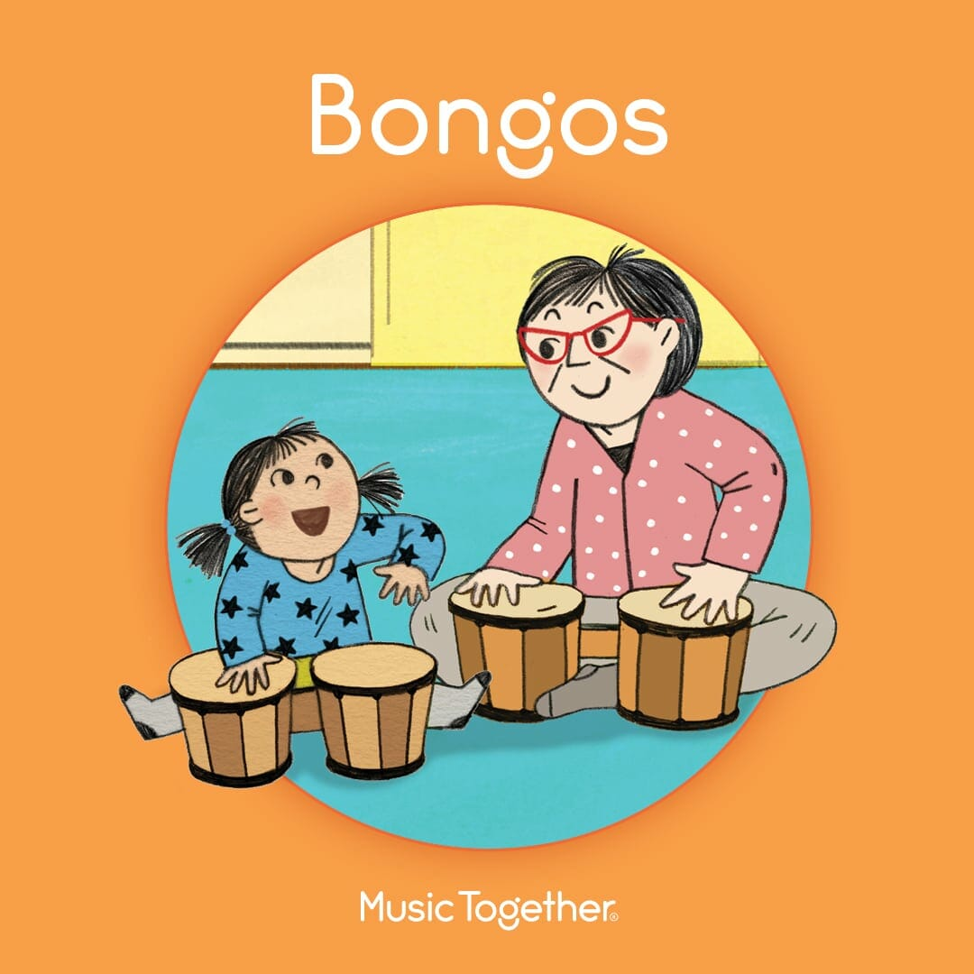 Bongos Music Together Book Cover